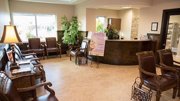 dental office lobby Coconut Creek FL